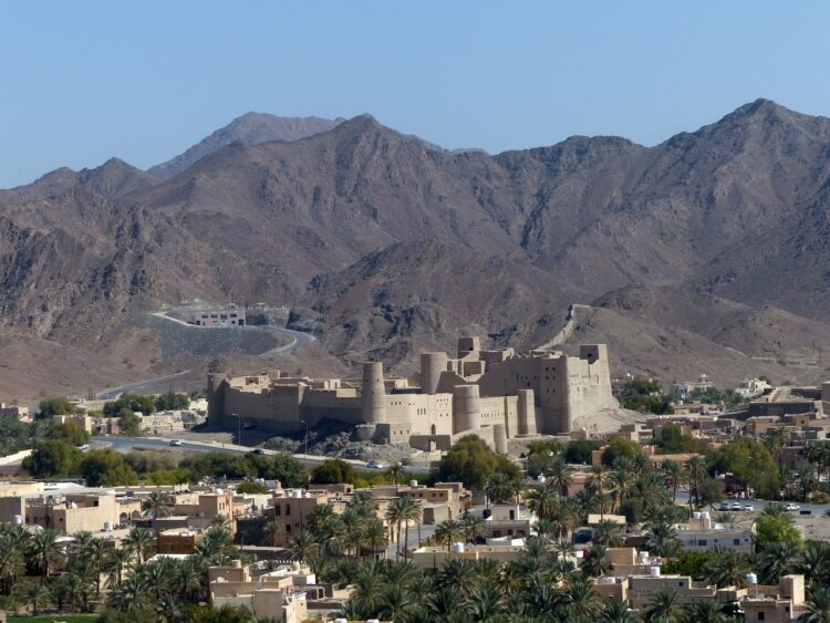 Magnificent natural beauty of Oman